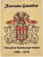 Germany: Hamburg 1979 790. Hamburger Hafengeburtstag  (L22) - [7] Federal Republic