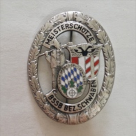 Badge / Pin (Shooting Weapons) - Germany (Deutschland) Swabia Marksman - Badges