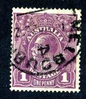 814) Australia 1922 Sc.#22a Used ( Cat.$5.25 ) Offers Welcome! - 1913-36 George V: Heads