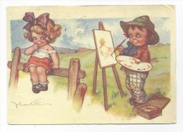 CPM - Enfants - Peintre - Illustrateur CASTELLI - Castelli