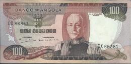 Angola 100 Escudos Marechal Carmona 1972 UNC CX 66381 - Angola
