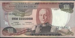 Angola 100 Escudos Marechal Carmona 1972  CX 66382 UNCIRCULATED - Angola