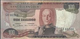 Angola 100 Escudos Marechal Carmona 1972  CX 66384 UNCIRCULATED - Angola
