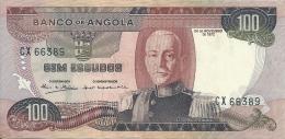 Angola 100 Escudos Marechal Carmona 1972  CX 66389 UNCIRCULATED - Angola