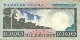 Angola 1000 EscudosLuiz De Camoes 1973  (Please See Scan) - Angola