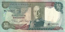 Angola 50 Escudos Marechal Carmona 1972 (Please See Scan) - Angola