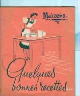 LIVRE - CUISINE - MAIZENA - RECETTES   - - Gastronomie