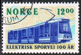 Norway SG1193 1994 Trams 12k Good/fine Used - Gebraucht