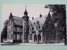 """Kasteel VILLERS """" Mariaburcht """" Opleidingscentrum Tot Gezinsleven Voorgevel / Anno 1961 ( Zie Foto Voor Details ) !! - Schoten"""