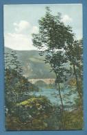 GORIZIA  PONTE FERROVIARIO DI SALCANO    - NUOVA  EDITORE G.CUMAR   GORIZIA  1911 - Gorizia