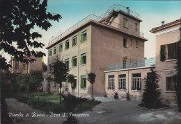 C-917- Viserba Di Rimini - Casa S. Francesco - Primi Colori - F.g. Viaggiata - Reggio Calabria