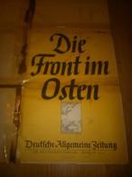 WWII.,-MAP--DEUT C HE ALLGEMEINE ZEITUNG IM DEUTSCHEN VERLAG BERLIN.,23,06,1942