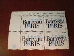 FRANCE  COIN DATE  14.09.10 YVERT 4512 - 2010-....