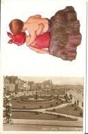 ANGLETERRE WESTON SUPER MARE - BEACH LAWNS Vers 1940 - Weston-Super-Mare