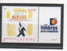 """France 2004 : 3688A XX Gommé . Anniversaire. Logo """"Les Timbres Personnalisés"""". - Personalisiert"""