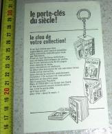 PUB PUBLICITE BOB MORANE HENRI VERNES MARABOUT JUNIOR LE PORTE-CLES DU SIECLE - Vieux Papiers