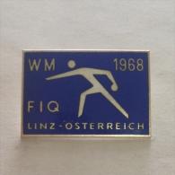 Badge / Pin (Bowling) - Austria Linz World Championship 1968 FIQ - Bowling