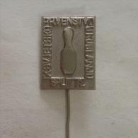 Badge / Pin (Bowling) - Yugoslavia Split 9th World Championship 1972 - Bowling