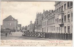 Souvenir De Lierre - Lier - Antwerpse Steenweg - Geanimeerd - 1902 - Uitg. H. Van Biesen, Lier - Lier