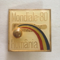 Badge / Pin (Bowling) - Romania World Championship 1980 - Bowling