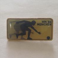 Badge / Pin (Bowling) - Germany (Deutschland) München (Munich) World Championship 1986 - Bowling