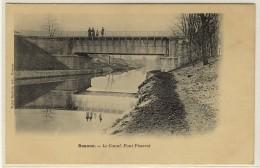ROANNE  -  Le Canal Et Le Pont Pisserot  -  Ed. Baptiste, N° -- - Roanne