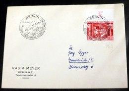 Mi.Nr. 763, Oberrandstück Auf Umschlag Mit SST. - Briefe U. Dokumente