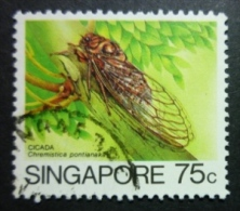 SINGAPORE 1985-86: Sc 460 / YT 462, O - FREE SHIPPING ABOVE 10 EURO - Singapour (1959-...)