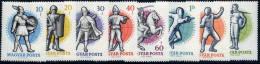 HUNGARY 1959 World Fencing Championships Set Of 8 MNH / **.  Michel; 1601-08 - Hungary