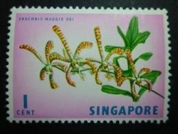 SINGAPORE 1962-63: Sc 62 / YT 52A / Tan Standard 66, ** MNH - FREE SHIPPING ABOVE 10 EURO - Singapour (1959-...)