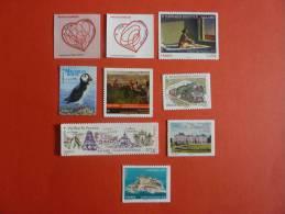 France Neuf 2012 Autoadhésif (autocollant)   Année Complete - Adhesive Stamps