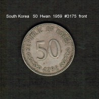 SOUTH KOREA    50  HWAN  1959  (KM # 2) - Korea, South