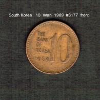 SOUTH KOREA    10  WON  1969  (KM # 6) - Korea, South