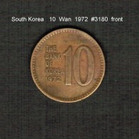 SOUTH KOREA    10  WON  1972  (KM # 6a) - Korea, South