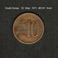 SOUTH KOREA    10  WON  1971  (KM # 6a) - Korea, South