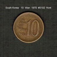 SOUTH KOREA    10  WON  1970  (KM # 6a) - Korea, South