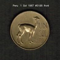 PERU    1  SOL  1967  (KM # 248) - Peru