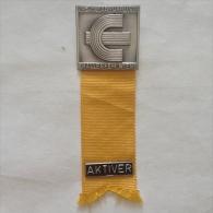 Badge / Pin (Athletics) - Austria Wien (Vienna) European Indoor Championship 1979 AKTIVER - Athletics