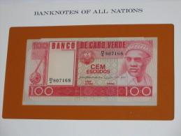 100 Cem Escudos - CAP VERT - Banco De Cabo Verde - Billet Neuf  - UNC - !!!   **** EN  ACHAT IMMEDIAT  **** - Cap Vert