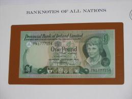 1 One Pound - IRLANDE - Provincial Bank Of Ireland Limited - Billet Neuf  - UNC - !!!   **** EN  ACHAT IMMEDIAT  **** - Irlande