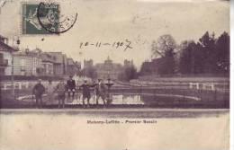 78 MAISONS LAFFITTE - (animé) Premier Bassin - D14 651 - Maisons-Laffitte
