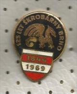 A13 Starch Company Brno Czech Republic Amidon Old Enamel Pin - Food