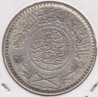 @Y@    Saoedi Arabie   1/2 Riyal 1935  / 1354   Zilver / Argent  (2454) - Arabie Saoudite
