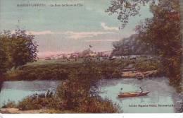 78 MAISONS LAFFITTE - (barque Animée) Le Bras De Seine Et L´ile - D12 72 - Maisons-Laffitte