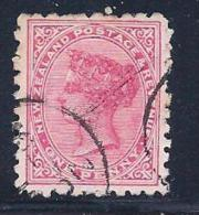 New Zealand, Scott # 61 Used Queen, Perf 10, 1882 - Used Stamps