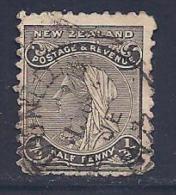 New Zealand, Scott # 86C Used Queen, 1900, Short Perfs - 1855-1907 Crown Colony
