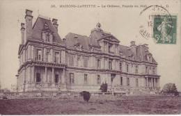 78 MAISONS LAFFITTE - Le Château - Façade Du Midi - D12 32 - Maisons-Laffitte