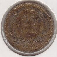 @Y@    Turkije   25 Kurus  1948      (2459) - Turkije