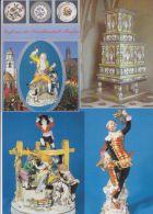 11 Ansichtskarten Meissen, Porzellan, Albrechtsburg, Um  1985-1995 - Meissen