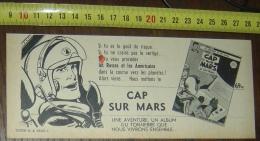 PUB PUBLICITE SORTIE BD CAP SUR MARS ALBERT WEINBERG DAN COOPER - Vieux Papiers